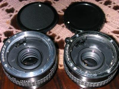 關於K100D使用的增距鏡